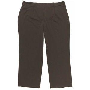 Brown Dress Pants Plus Size 24W Fashion Bug